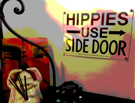 hippies side door