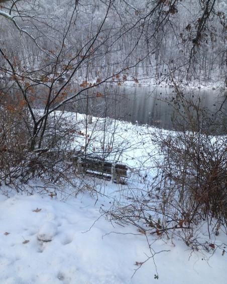 henrys bend w snow