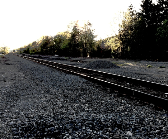 railroad posterized