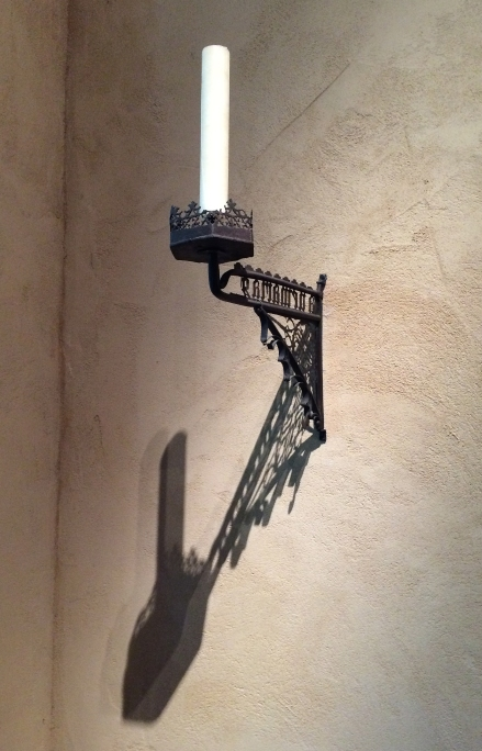 candle-on-wall