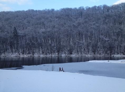 snow on henrys bend