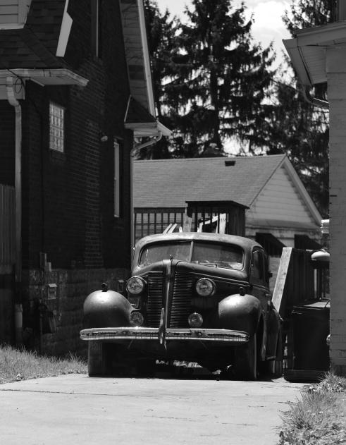 old car blwh
