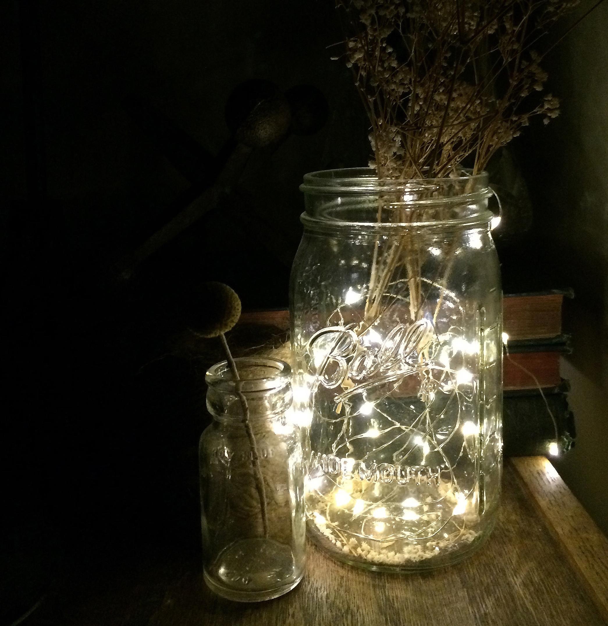 jar w lights