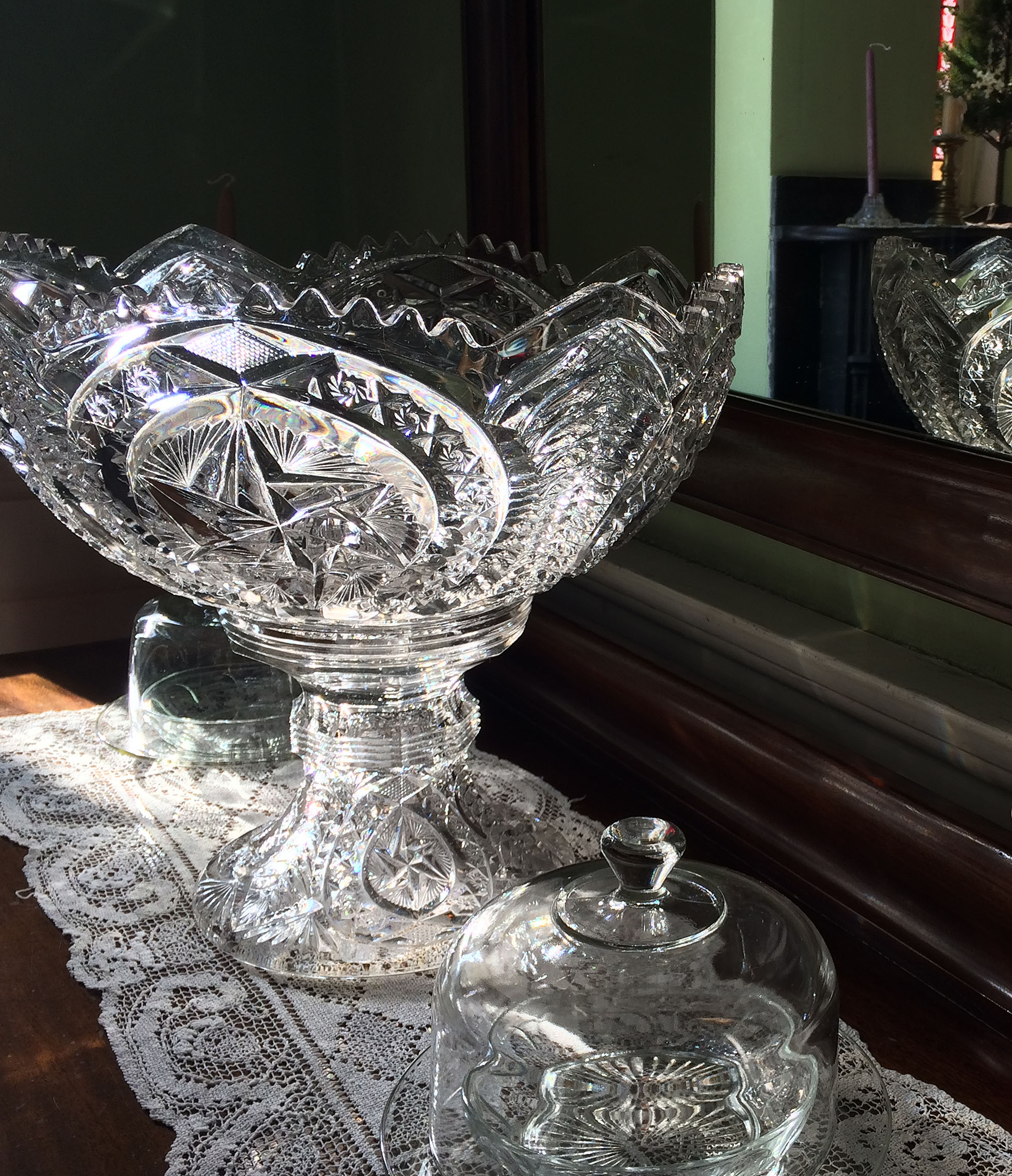 punch bowl in sun