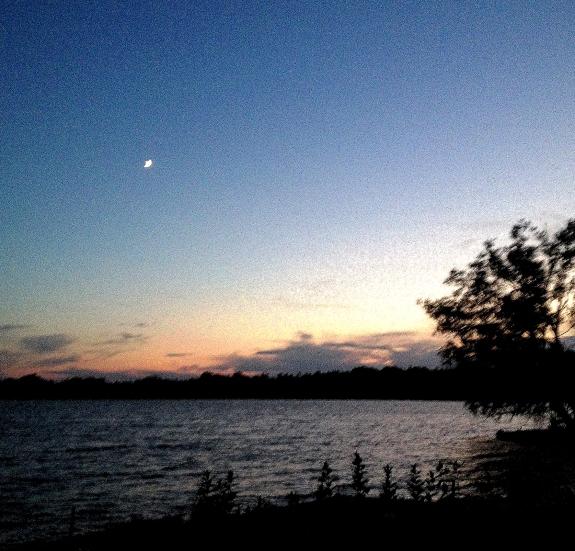 blue sky lake