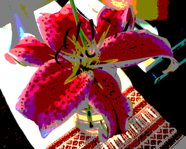 lilly posterized