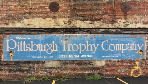 pittsburgh trophy sign