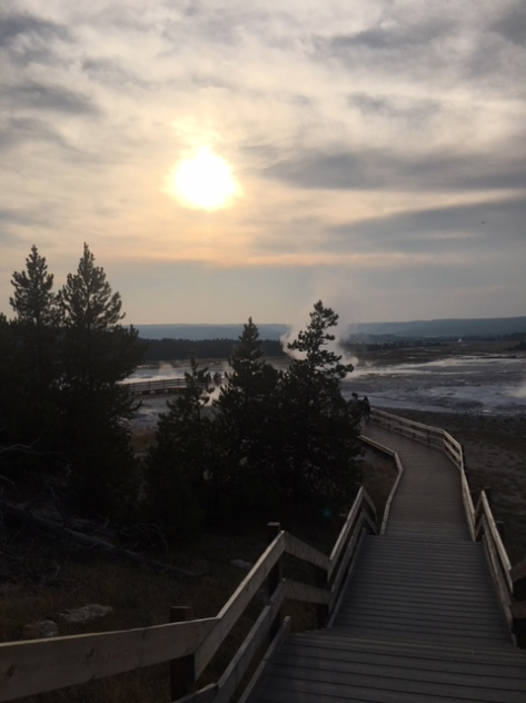yellowstone path