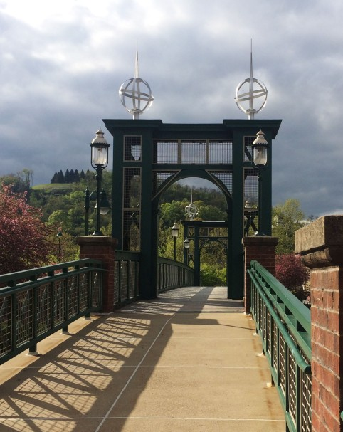 bridge at waterfront