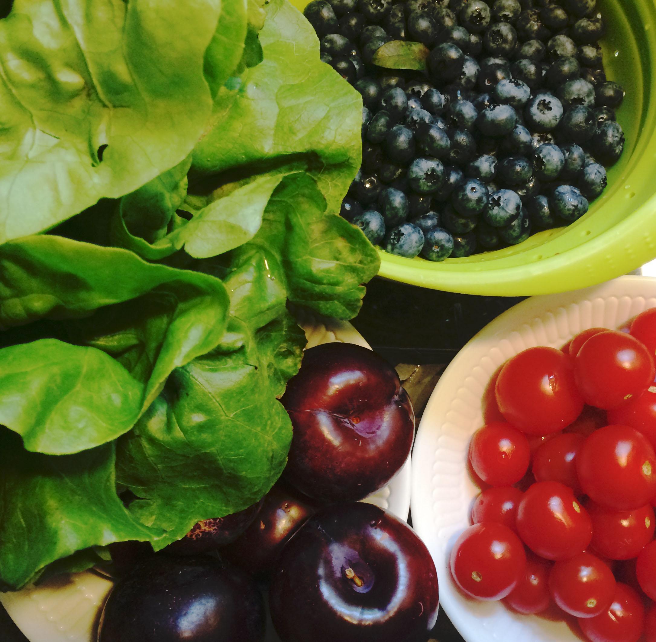 fruits and vegies