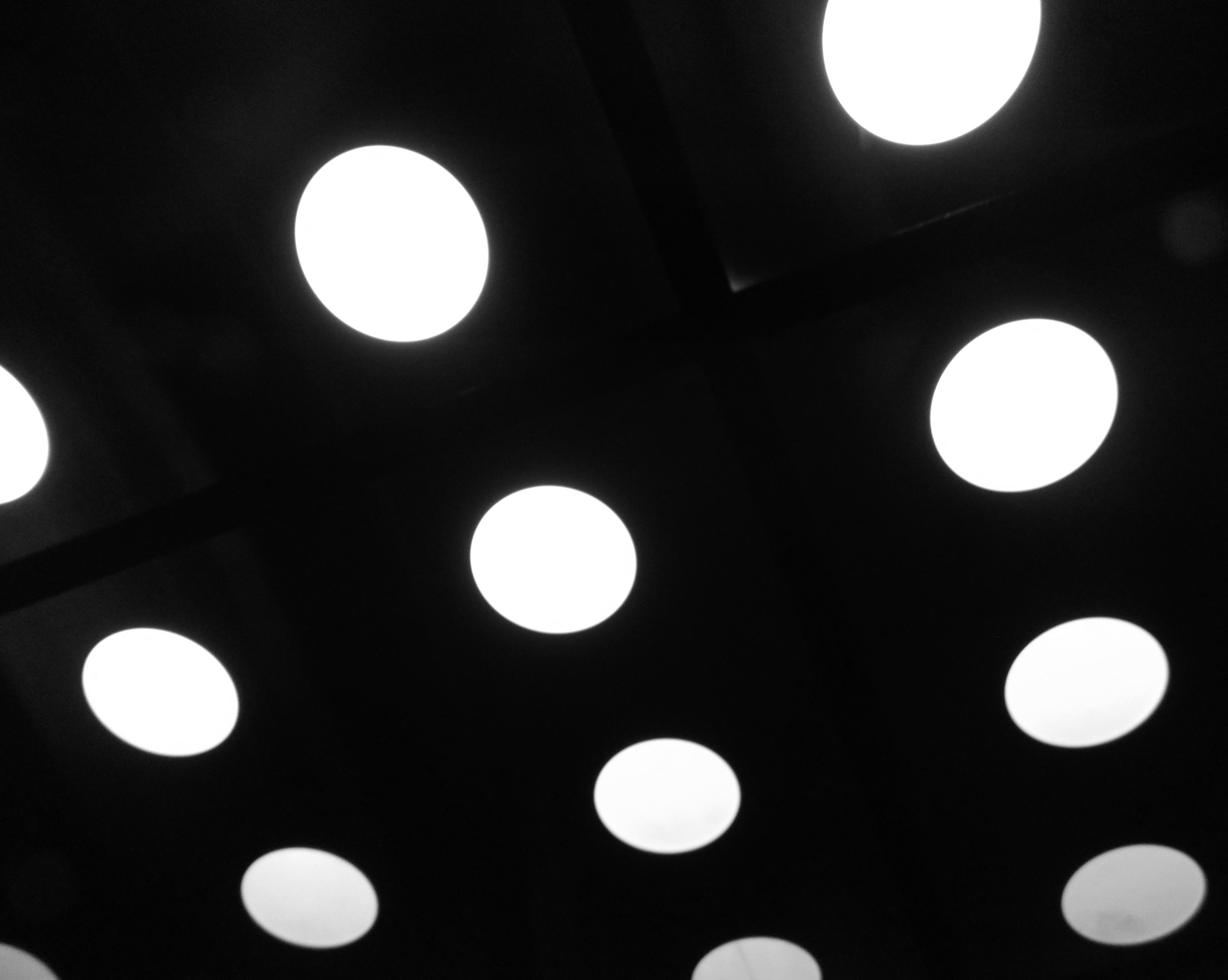 ceiling of parking garage